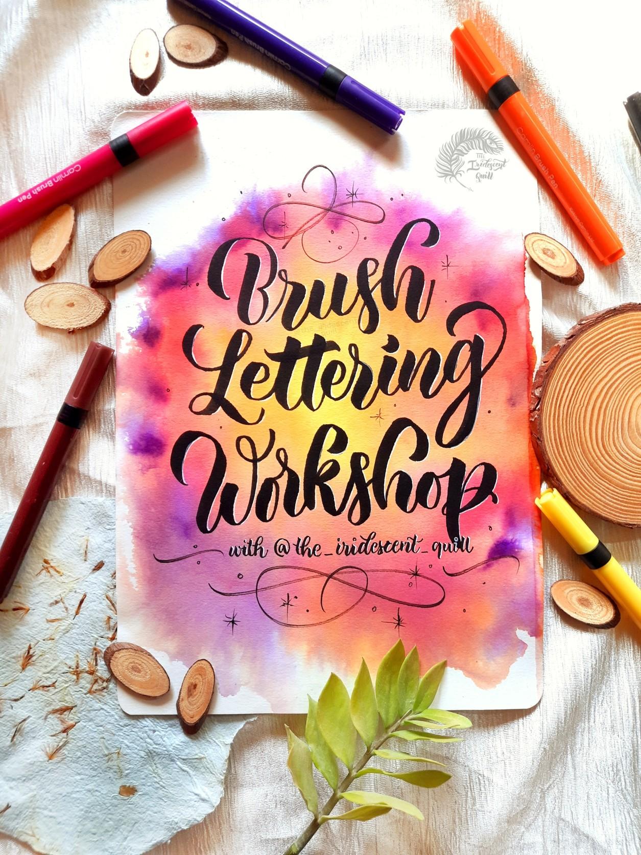 Brush Lettering Workshop (1)