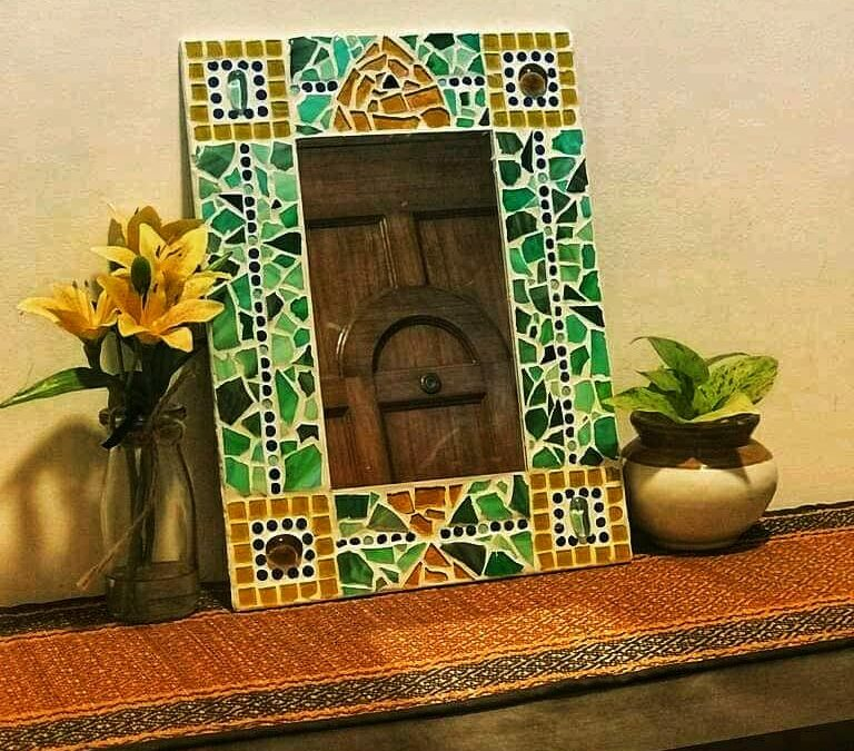 Mosaic Mirror – Beginners Workshop in Bangalore