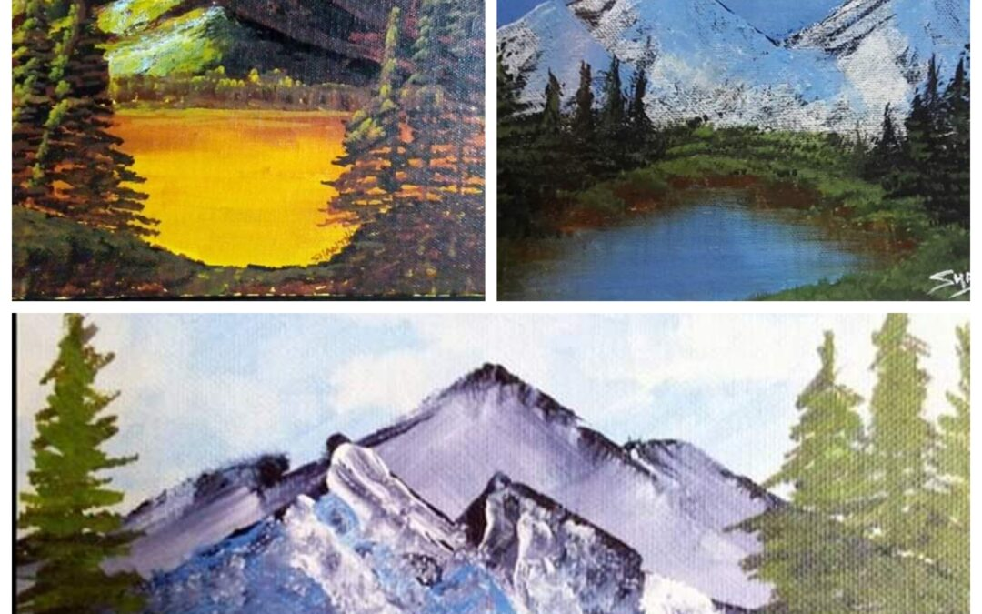 Landscapes with Acrylic- Beginner's workshop in Bangalore