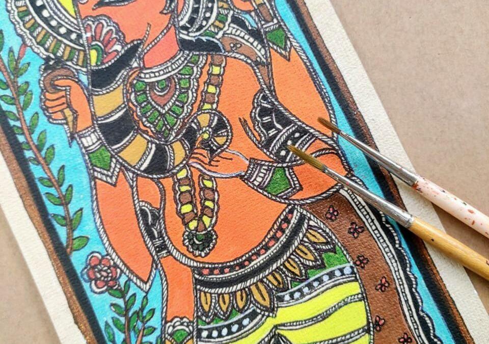 Madhubani – Traditional Art Workshop for Beginners in Bangalore