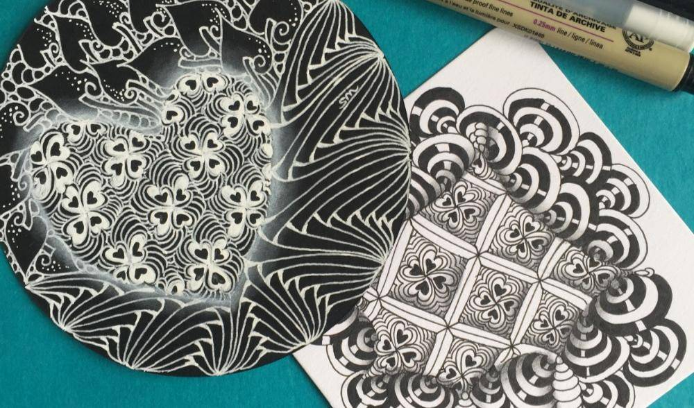 Zentangle workshop for beginners (Certified zentangle trainer)