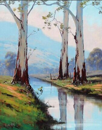 Landscapes oil painting - online workshop