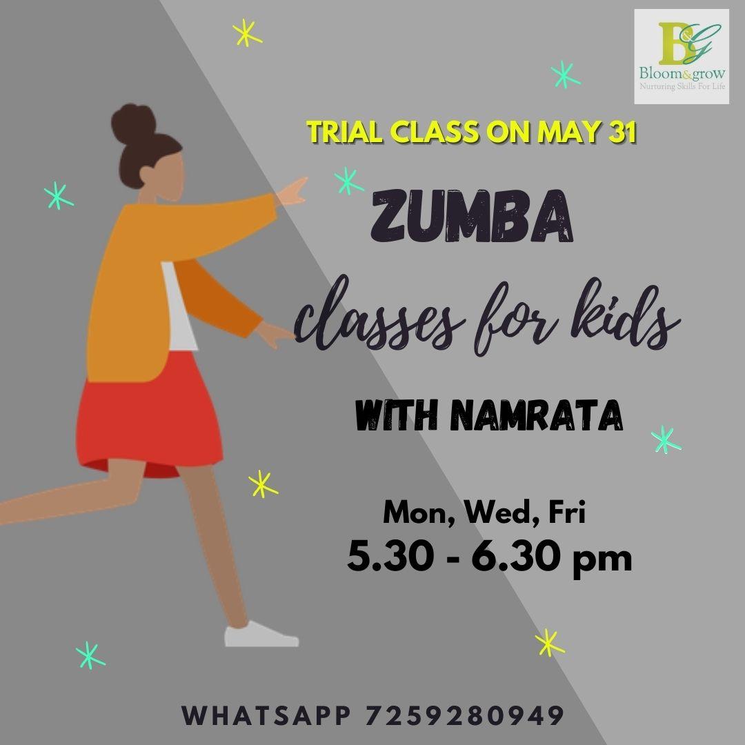 Zumba fitness classes online for kids