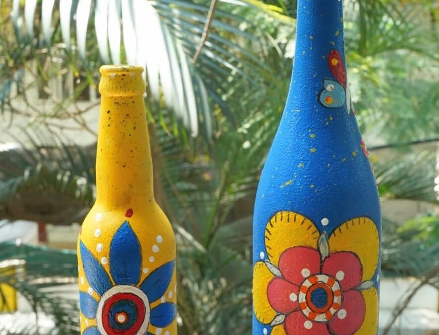 Bottle Painting – Free online-live session