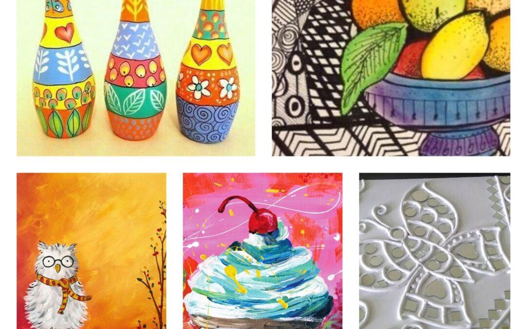Five-day Online Art  Camp with ArthbyKshama
