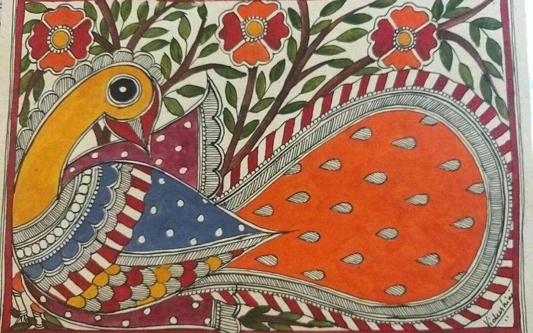 Madhubani Painting Masterclass – Two day online workshop