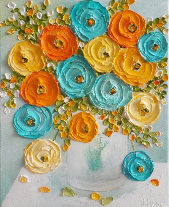 Impasto Acrylic Painting Online Session