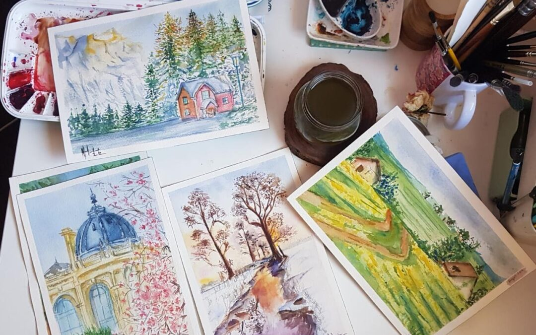 Watercolor Painting Online Course