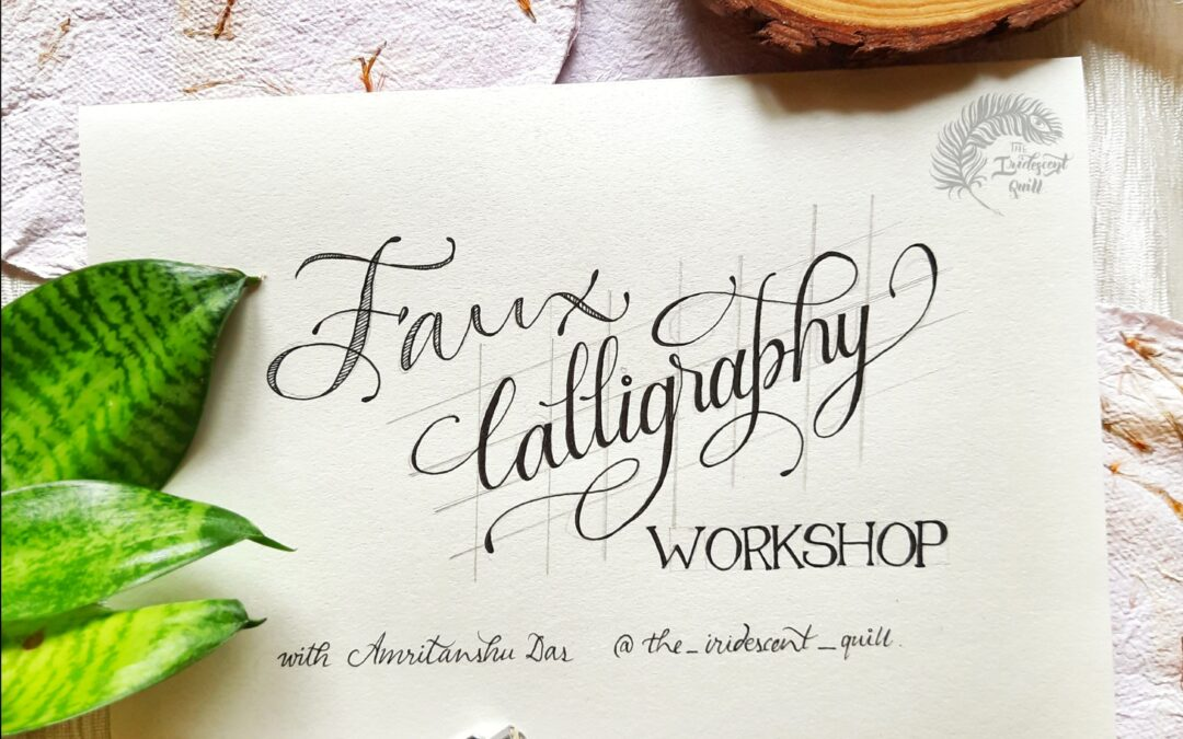 Faux calligraphy – Three Day Online Workshop