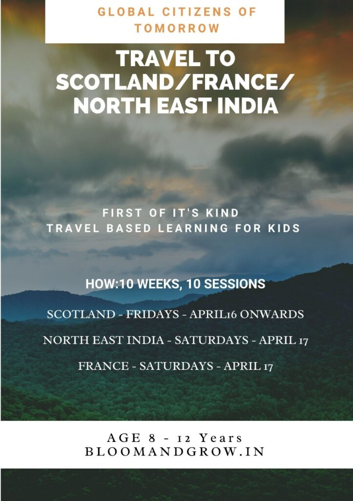 Summer camp on Travel based learning