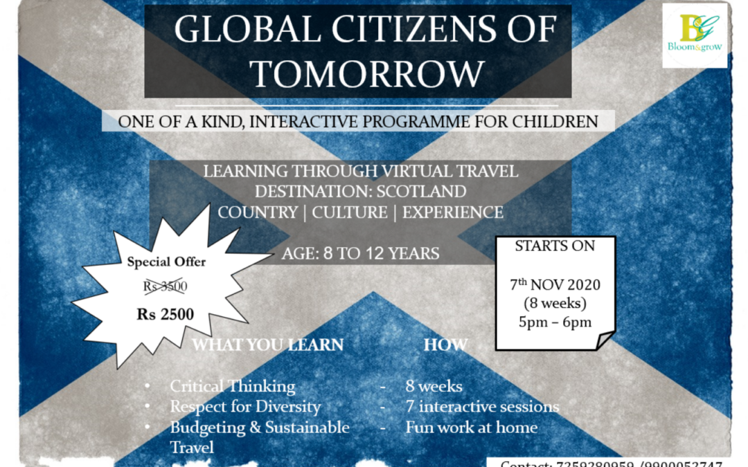Travel to Scotland – Global Kids Training program