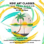 Kids art classes online