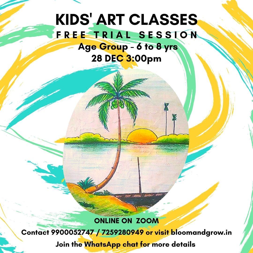 Kids art classes online