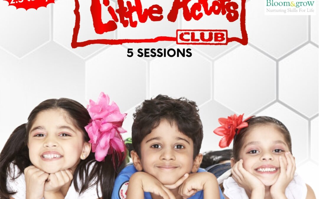 Little Actors Club Online Sessions for Kids