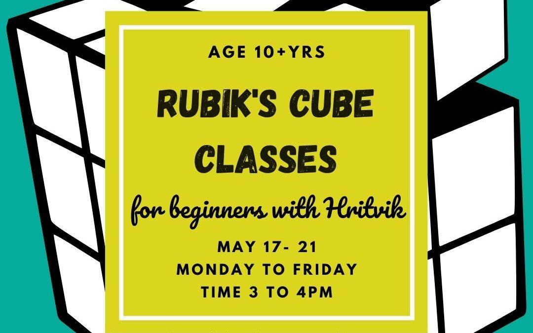 Rubik's Cube Online Classes