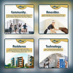 Residences at RoomPe (Demystifying R from C.A.R.T of RoomPe)