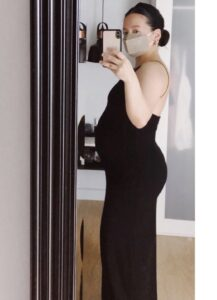 The body go through changes during and after pregnancy