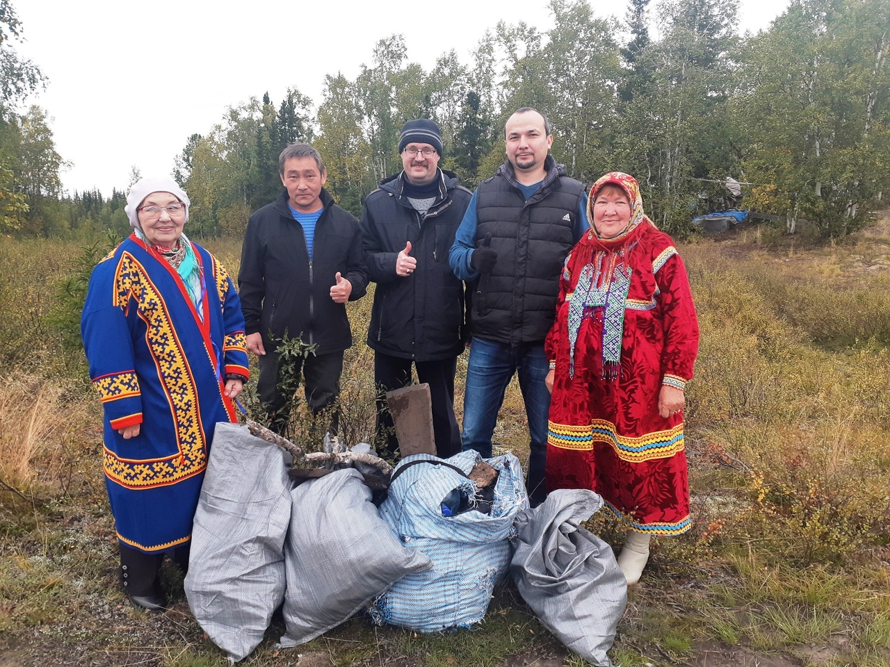 jTWxRdojmVs - National level envionronment protection action took place in Yamal area of Siberia.