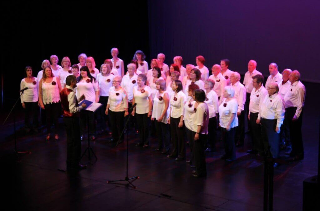 Frodsham Sings 'smash it' at The Brindley!!