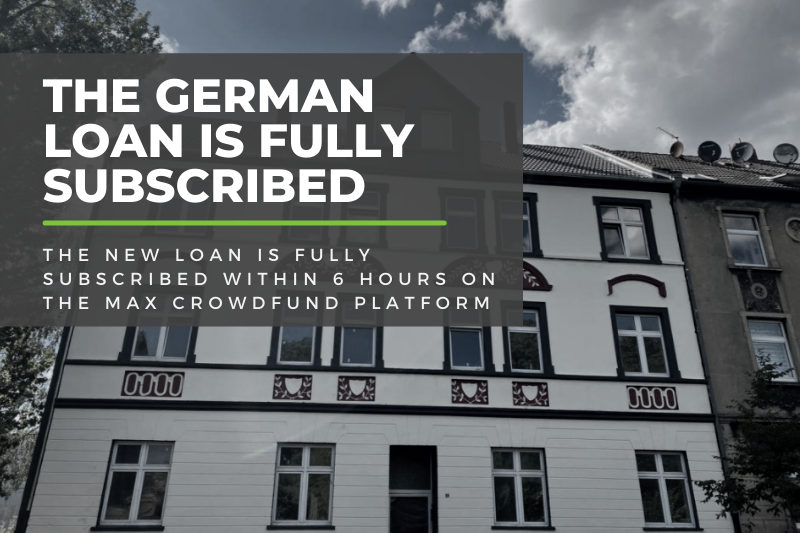 The German Loan For Max Crowdfund