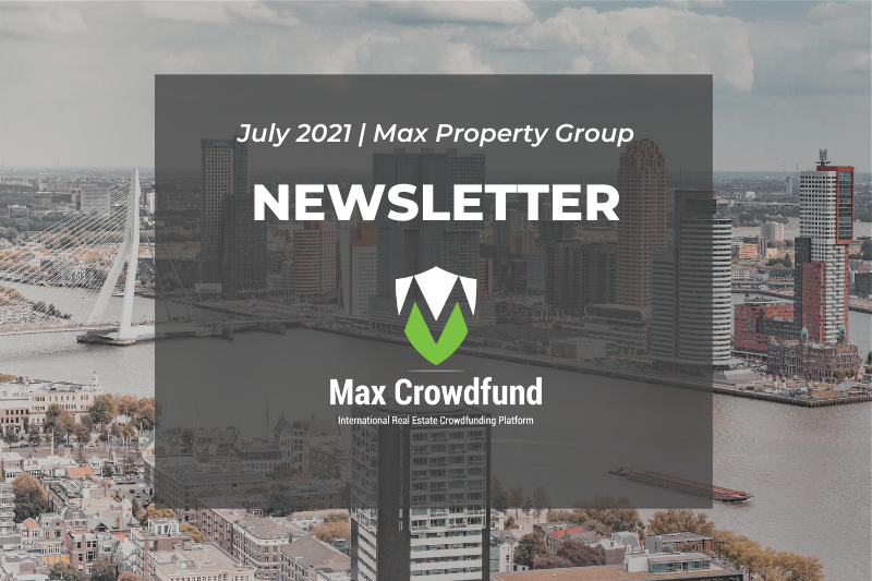 Max Property Group: Newsletter july 2021
