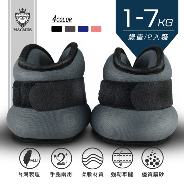 Classic Glasses style Ankle Weights