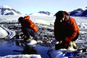 Washing up on Glacier