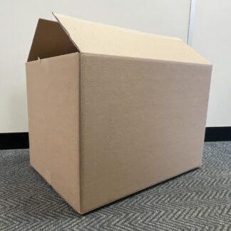once used medium box