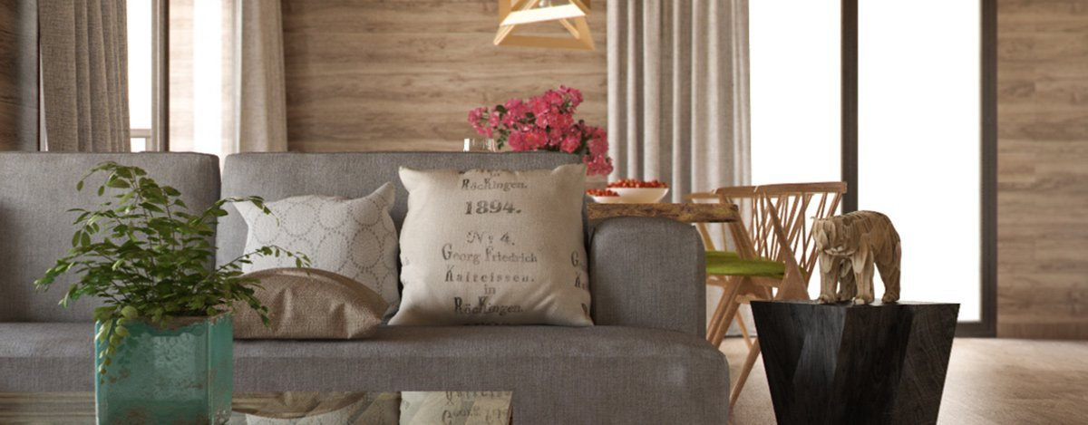 render interior detail view of a living room by GAYARRE infografia