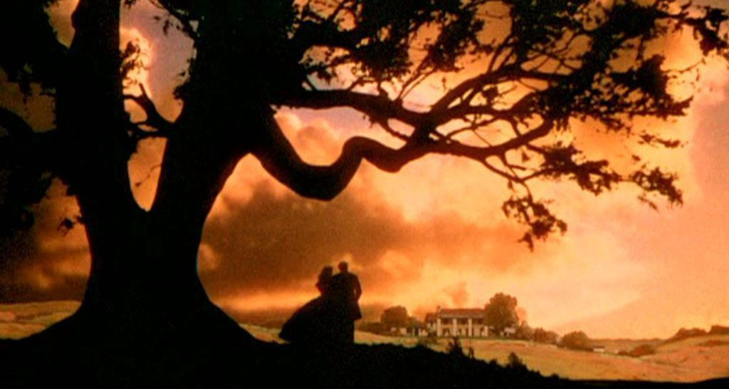Gone with the Wind (1939) sunset sky