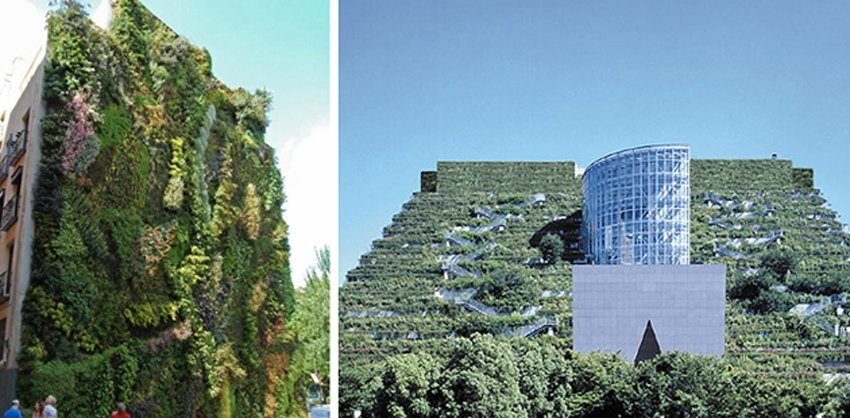 real estate demagoguery vertical garden architecture