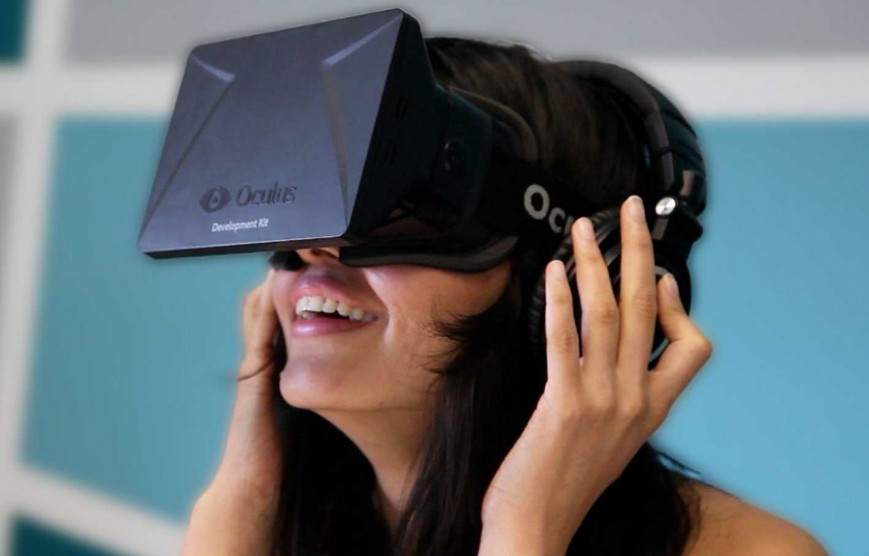 Oculus virtual reality headset image 360