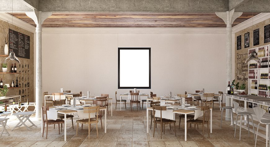 first render check of the restaurant