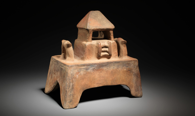 """architecture model - """"Design for Eternity: Architectural Models from the Ancient Americas"""""""