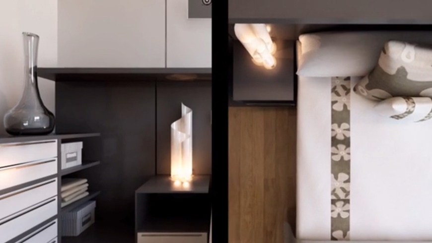 render interior bedroom detail - Do you use these tricks to improve your animations?