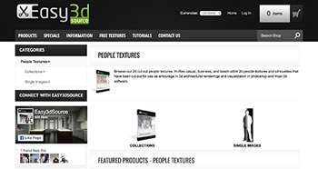 cut out people websites easy3dsource