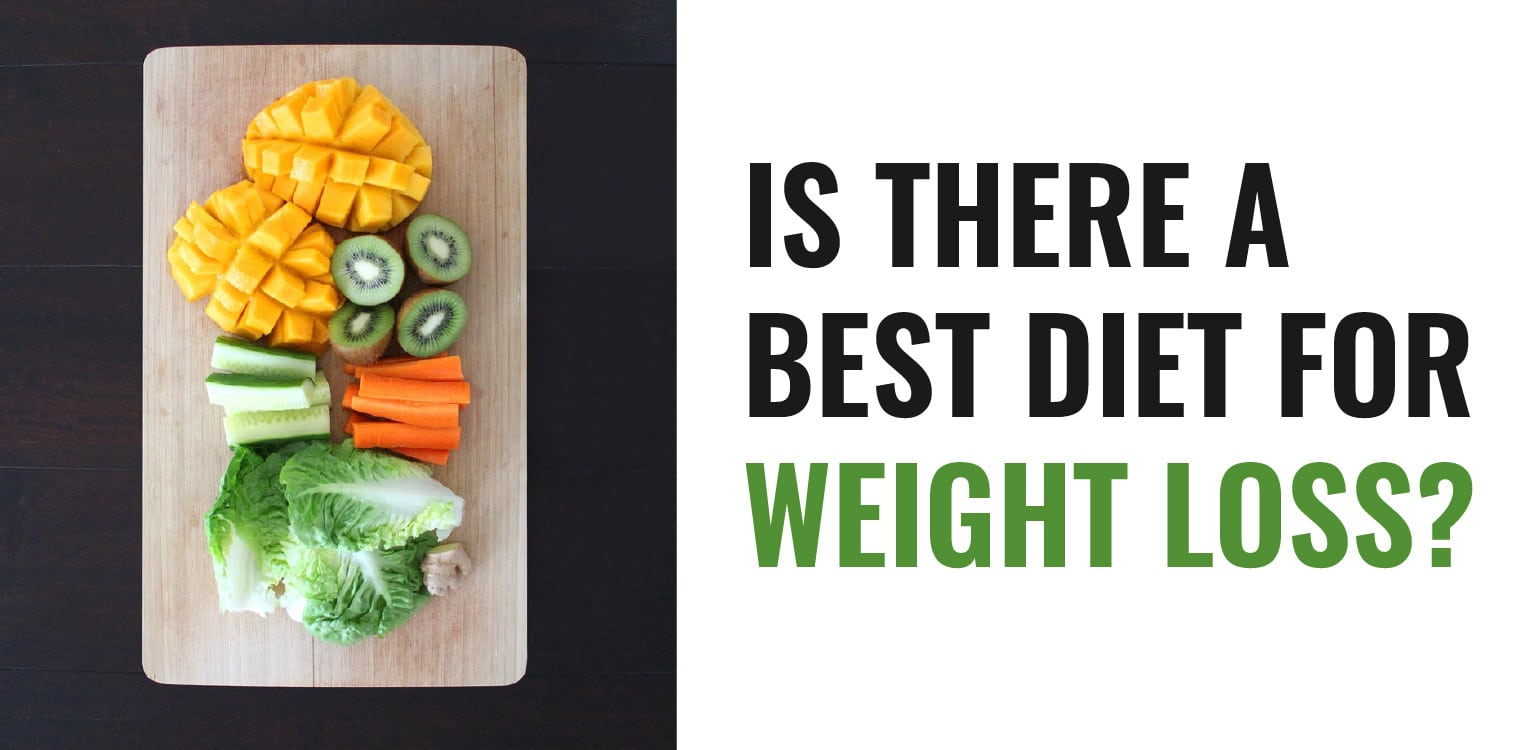 Is there a best diet for weight loss - Header Image