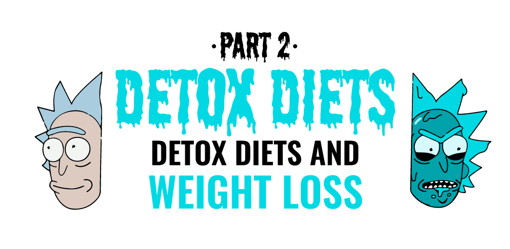 detox diets and weight loss