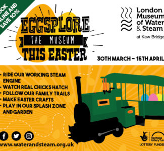 Eggsplore the London Museum of Water & Steam