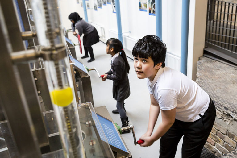 Learning at the London Museum of Water & Steam