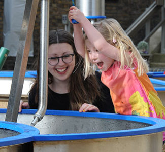 Splashzone at the London Museum of Water & Steam