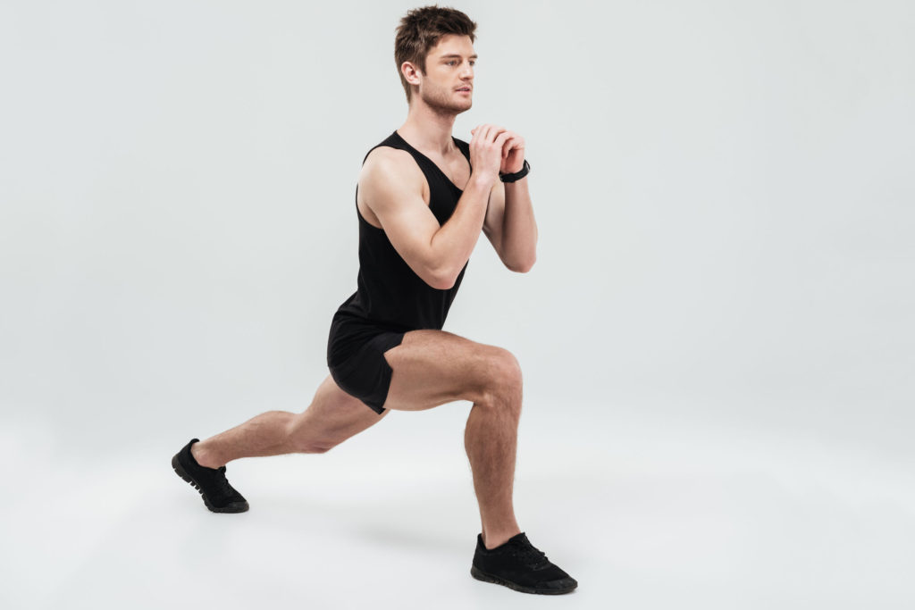 lunges butt exercises