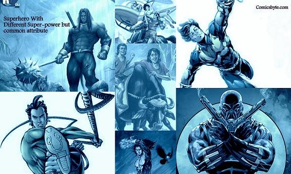 Raj Comics 7 Heroes
