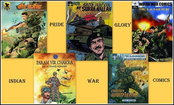 Indian War Series Comics