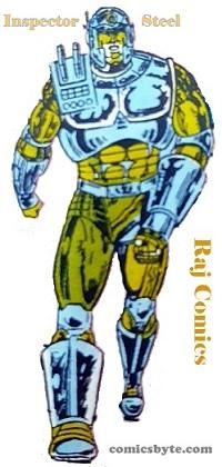 Inspector Steel - Raj Comics