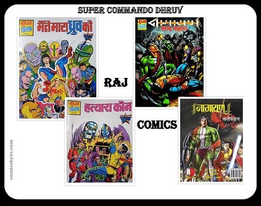 Comics Byte - Maine Mara Dhruv Ko Aur Hatyara Kaun