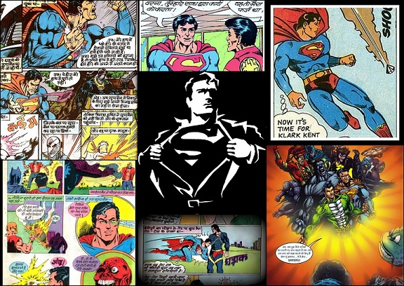 Superman In Indian Comics