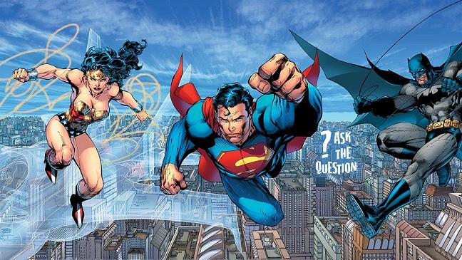 The Trinity -  'DC Comics' Superman-Batman-Wonder Woman