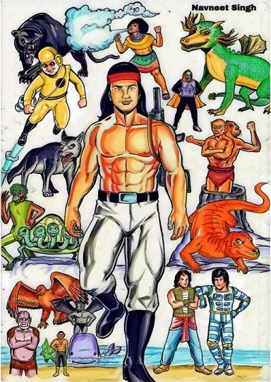 अंगारा तुलसी कॉमिक्स / कॉमिक्स इंडिया आर्टिस्ट: नवनीत सिंह