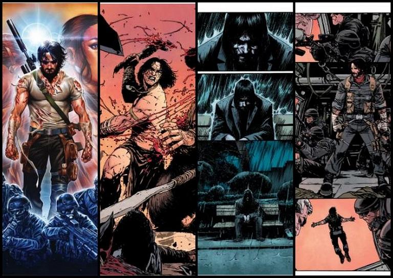 Keanu Reeves - BRZRKR Superhero  Comics/Graphic Novel Boom Studio